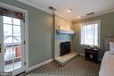 Fireplace in master bedroom. - 16 CORNWALL ST NE, LEESBURG