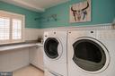 Laundry room located upstairs.. - 16 CORNWALL ST NE, LEESBURG