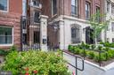 Iron gate entry, secure, cameras - 1745 N ST NW #312, WASHINGTON