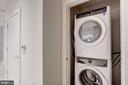 Larger capacity washer/dryer - 1745 N ST NW #312, WASHINGTON