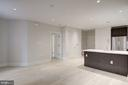 Living area - 1745 N ST NW #312, WASHINGTON