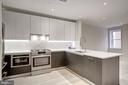 Gas cooking, well-appointed kitchen - 1745 N ST NW #312, WASHINGTON