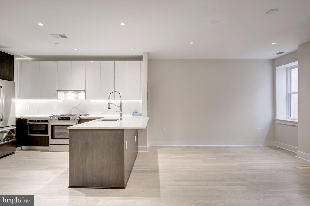 Open floor plan, spacious  1 bedroom - 1745 N ST NW #312, WASHINGTON
