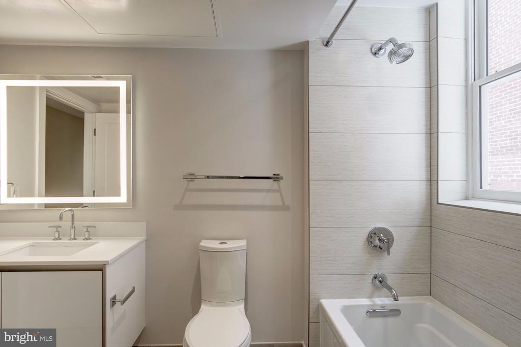 guest bathroom - 1745 N ST NW #414, WASHINGTON