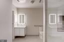 Master bathroom - 1745 N ST NW #414, WASHINGTON