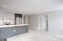 Spacious floor plan - 1745 N ST NW #414, WASHINGTON