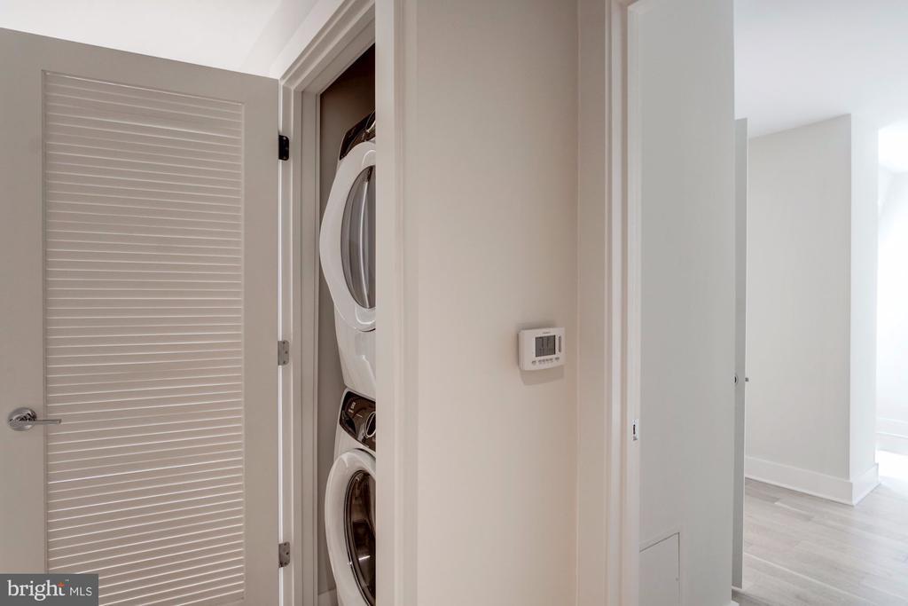 Full sized washer/dryer - 1745 N ST NW #414, WASHINGTON