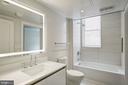 Bathroom with natural light - 1745 N ST NW #414, WASHINGTON