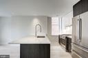Gourmet kitchen with natural light! - 1745 N ST NW #414, WASHINGTON