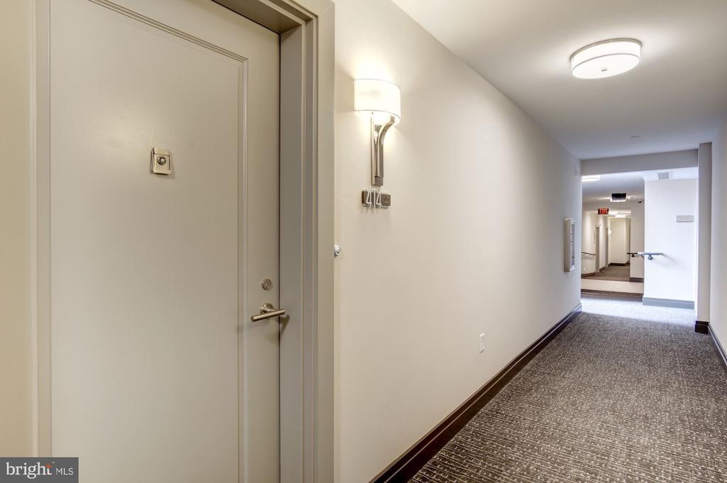 Entrance to #414 - 1745 N ST NW #414, WASHINGTON