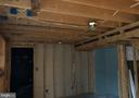 Partially framed basement - 11810 HICKORY CREEK DR, FREDERICKSBURG