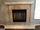 Tiled Fireplace - 11810 HICKORY CREEK DR, FREDERICKSBURG