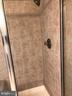 Tiled shower in Master Bath - 11810 HICKORY CREEK DR, FREDERICKSBURG
