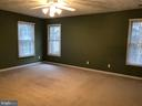 Spacious Master Bedroom - 11810 HICKORY CREEK DR, FREDERICKSBURG
