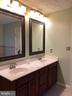 Double sink vanity in Master Bath - 11810 HICKORY CREEK DR, FREDERICKSBURG