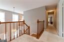 Skylight and foyer windows keep upstairs bright - 12904 CHALKSTONE CT, FAIRFAX