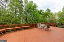 Enjoy time on your private deck - 12904 CHALKSTONE CT, FAIRFAX