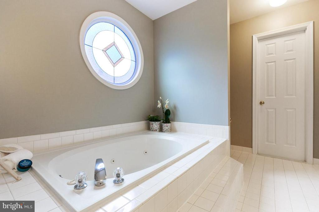 Jetted tub and enormous 2nd walk-in closet - 12904 CHALKSTONE CT, FAIRFAX