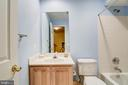 Lower level full bath - 7428 SPRING SUMMIT RD, SPRINGFIELD