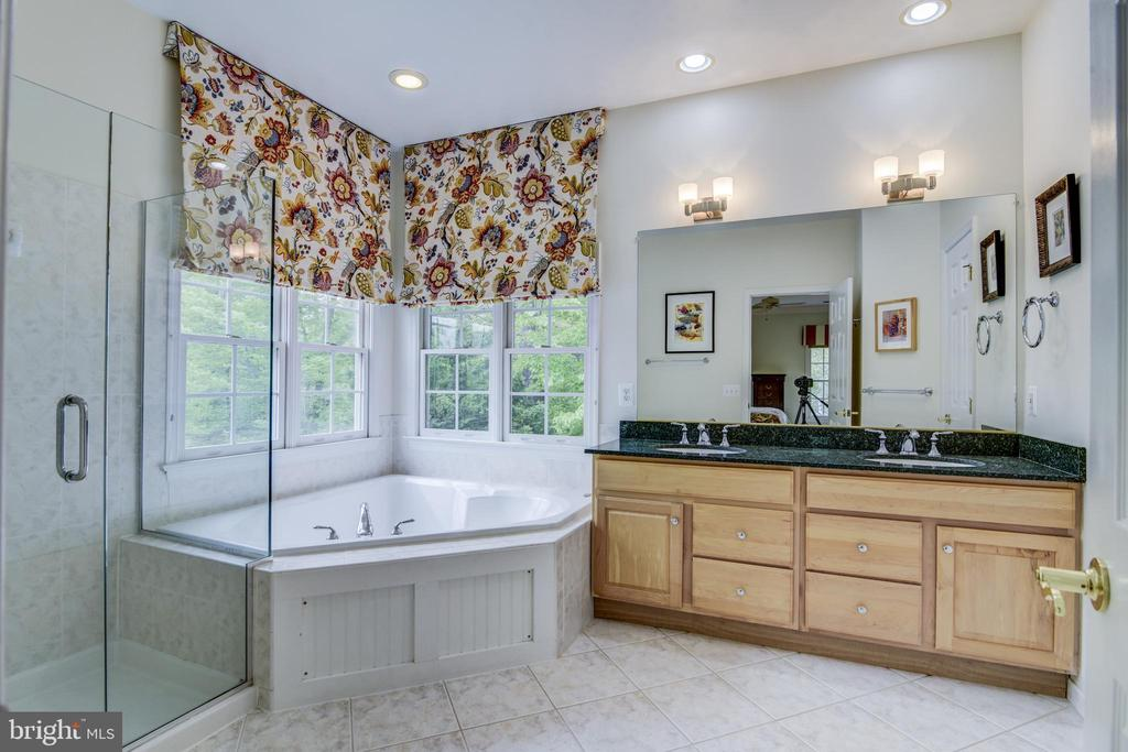 Granite counters & upgraded light fixtures - 7428 SPRING SUMMIT RD, SPRINGFIELD
