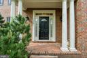 Welcome Home ... brick walkway & front porch - 7428 SPRING SUMMIT RD, SPRINGFIELD
