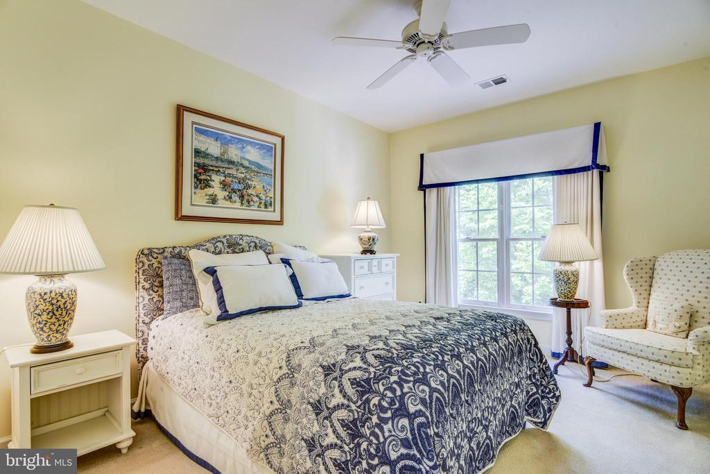 All of  the bedrooms are light & bright - 7428 SPRING SUMMIT RD, SPRINGFIELD