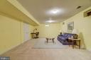 Space for a pool table, exercise equipment & more - 7428 SPRING SUMMIT RD, SPRINGFIELD