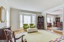 Large rooms ... sunlit with 2 side bay windows - 7428 SPRING SUMMIT RD, SPRINGFIELD