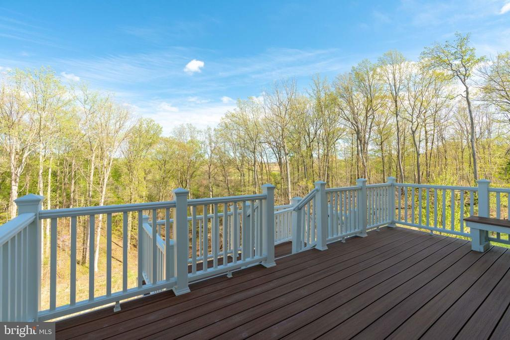 Two-tired back deck added after purchase - 17123 BELLE ISLE DR, DUMFRIES