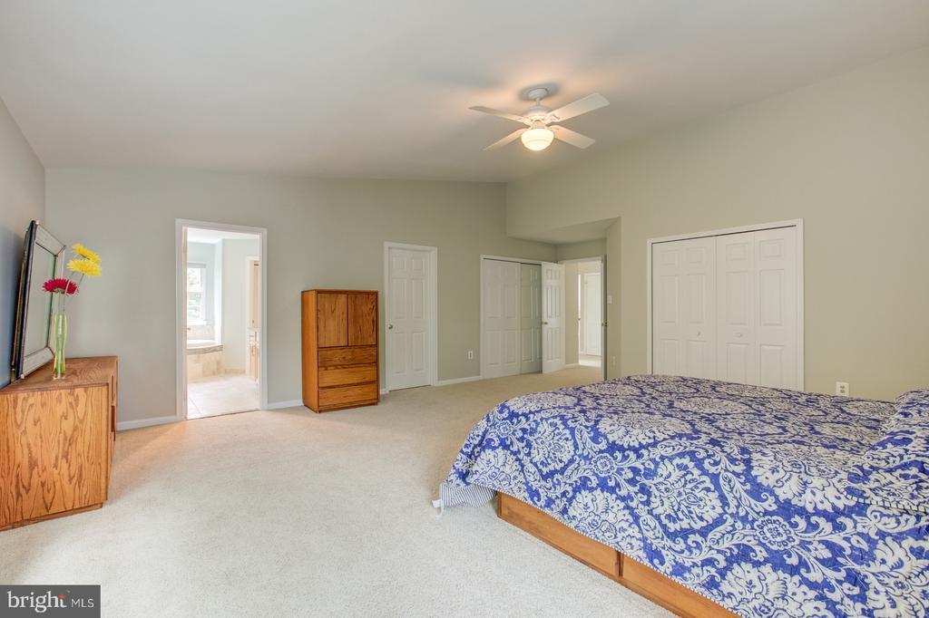 Three closets in master bedroom - 5429 CASTLE BAR LN, ALEXANDRIA