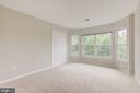 Large bay window in fourth bedroom - 5429 CASTLE BAR LN, ALEXANDRIA