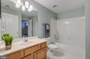 Large full bath in the basement - 5429 CASTLE BAR LN, ALEXANDRIA
