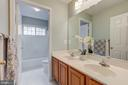 Tub in a separate room - 5429 CASTLE BAR LN, ALEXANDRIA