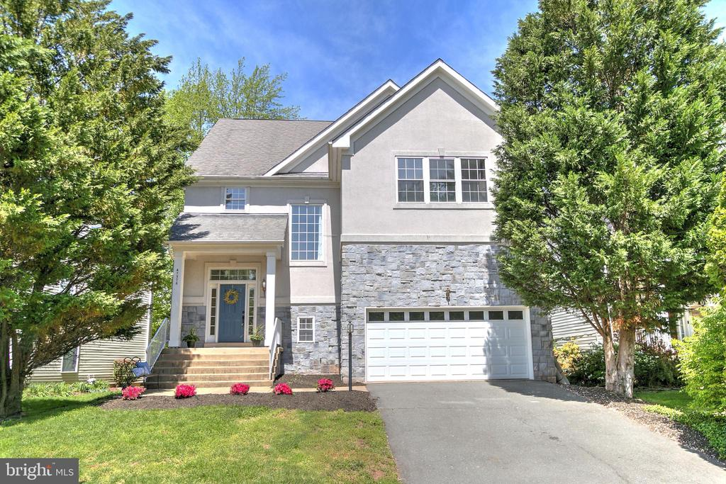 Lovely Stone Front Home - 47576 SAULTY DR, POTOMAC FALLS