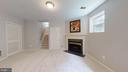 Cozy Fireplace In Recreation Room - 47576 SAULTY DR, POTOMAC FALLS