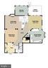 Main Level Floorplan - 47576 SAULTY DR, POTOMAC FALLS