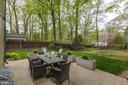 Stone patio - 5707 MOHICAN RD, BETHESDA
