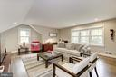 Bonus room/bedroom/entertainment - 5707 MOHICAN RD, BETHESDA