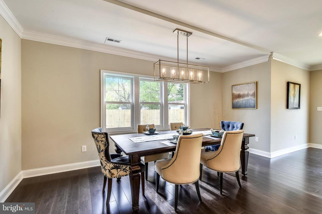 Dinning Room - 3401 CAMPBELL DR, ALEXANDRIA