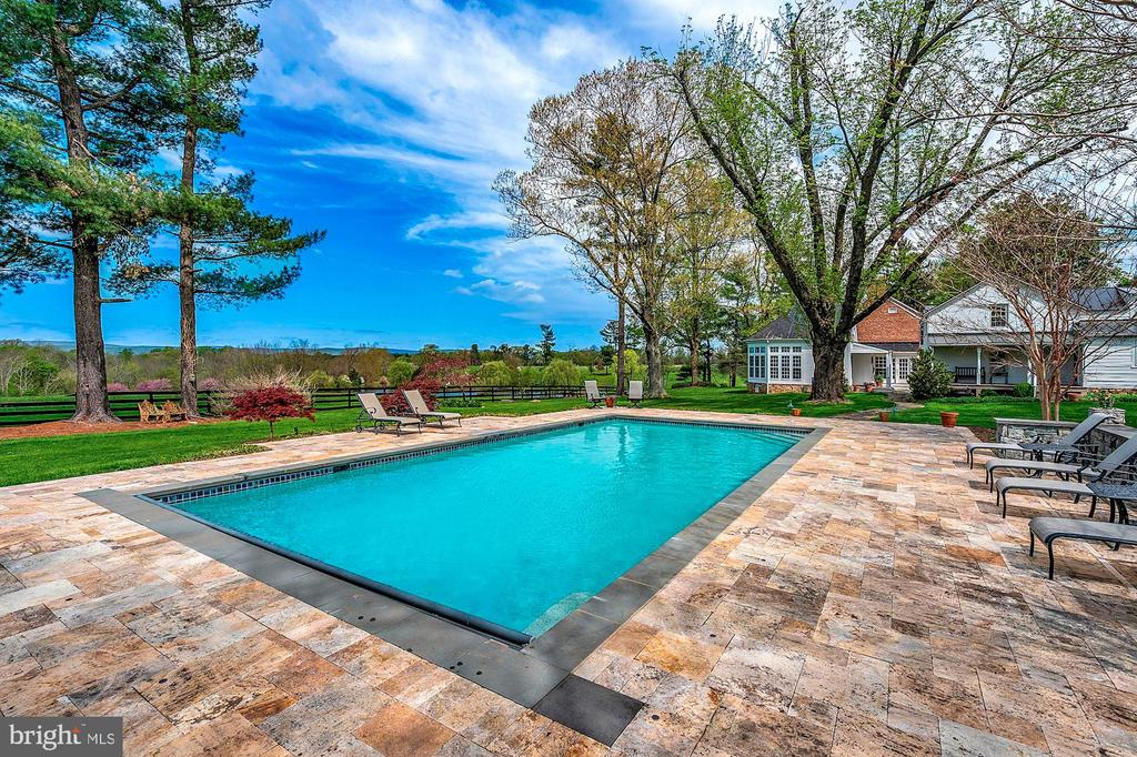 Panoramic views from the pool - 40041 HEDGELAND LN, WATERFORD