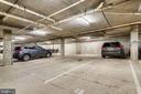 2 large assigned garage parking spots. - 3800 LEE HWY #301, ARLINGTON