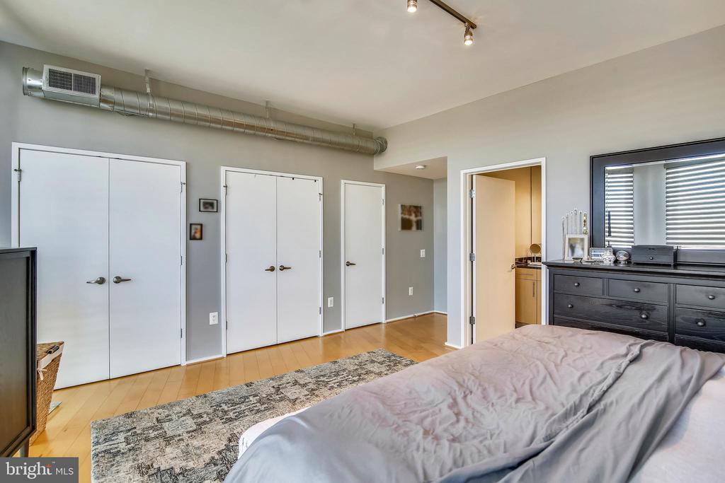 Lots of closet space. - 3800 LEE HWY #301, ARLINGTON