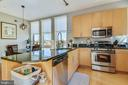 Gourmet kitchen. - 3800 LEE HWY #301, ARLINGTON