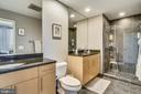 Dual vanity master bath. - 3800 LEE HWY #301, ARLINGTON