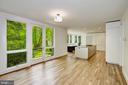 Kitchen/family room - 4101 LINNEAN AVE NW, WASHINGTON
