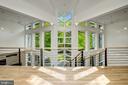 Second floor walkway - 4101 LINNEAN AVE NW, WASHINGTON
