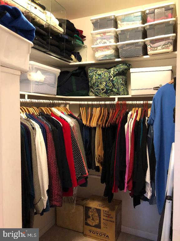 Large closet with shelving on both sides - 1400 LAKEVIEW PKWY, LOCUST GROVE