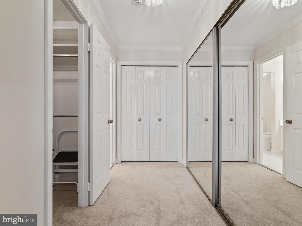 Additional customized closets in Master Bedroom - 11420 STRAND DR #R-113, NORTH BETHESDA