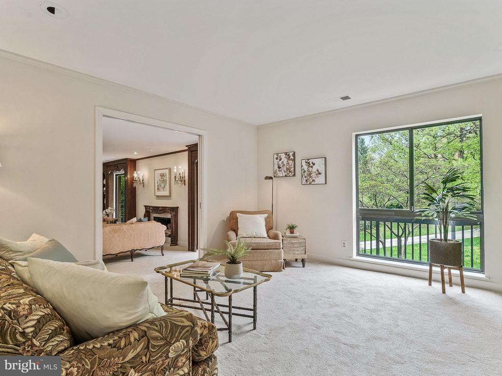 Pocket doors for additional privacy - 11420 STRAND DR #R-113, NORTH BETHESDA