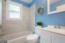 Master bath - 4424 HUNT PL NE, WASHINGTON